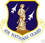 STICKER USAF Air National Guard