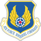 STICKER USAF AIR FORCE MATERIEL COMMAND