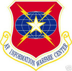 STICKER USAF Air Force Information Warfare Center