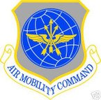 STICKER USAF AIR FORCE AIR MOBILITY COMMAND
