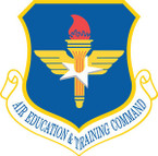 STICKER USAF AIR FORCE AETC