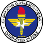 STICKER USAF AIR EDUCATION TRAINING COMMAND