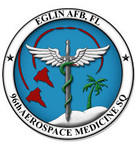 STICKER USAF 96th AEROSPACE MEDICINE SQUADRON