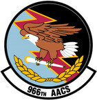 STICKER USAF 966 Airborne Air Control Squadron Emblem