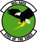 STICKER USAF 962nd Airborne Air Control Squadron Emblem
