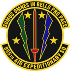 STICKER USAF 955th Air Expeditionary Squadron Emblem