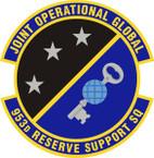 STICKER USAF 953rd Reserve Support Squadron Emblem