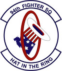 STICKER USAF 94th Fighter Squadron