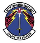 STICKER USAF 927th Communication Wing