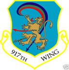 STICKER USAF 917TH WING