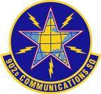 STICKER USAF 902nd Communications Squadron Emblem