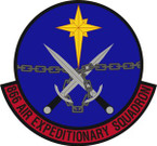 STICKER USAF 866th Air Expeditionary Squadron Emblem