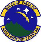 STICKER USAF 802nd Communications Squadron Emblem