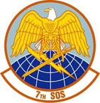 STICKER USAF 7th Special Operations Squadron