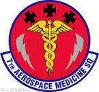 STICKER USAF 7th Aerospace Medicine Squadron