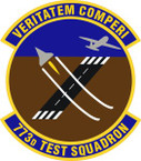 STICKER USAF 773rd Test Squadron Emblem