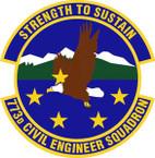 STICKER USAF 773rd Civil Engineer Squadron Emblem
