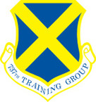 STICKER USAF 737th TRAINING WING