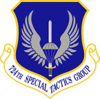 STICKER USAF 724th Special Tactics Group Emblem