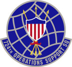 STICKER USAF 724th Operations Support Squadron Emblem