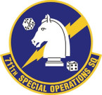 STICKER USAF 711TH SPECIAL OPERATIONS SQUADRON