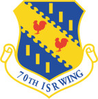 STICKER USAF 70TH INTELLIGENCE-SURVEILANCE AND RECONNASSIANCE WING