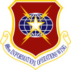 STICKER USAF 688TH INFORMATION OPERATION WING