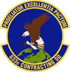 STICKER USAF 633rd Contracting Squadron Emblem