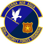 STICKER USAF 628th Security Forces Squadron Emblem