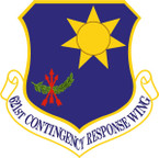 STICKER USAF 621ST CONTINGENCY RESPONSE WING