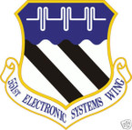 STICKER USAF 551ST ELECTRONIC SYSTEMS WING