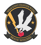 STICKER USAF 502ND FIGHTER WING