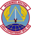 STICKER USAF 495th Expeditionary Intelligence Squadron Emblem