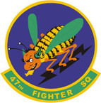 STICKER USAF 47TH FIGHTER SQUADRON