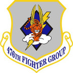 STICKER USAF 476TH FIGHTER GROUP