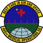 STICKER USAF 460th Medical Operations Squadron Emblem
