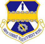STICKER USAF 448TH COMBAT SUSTAINMENT WING