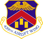 STICKER USAF 439th Airlift Wing