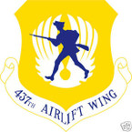 STICKER USAF 437TH AIRLIFT WING
