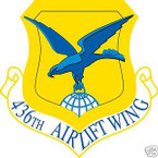 STICKER USAF 436TH AIRLIFT SQUADRON