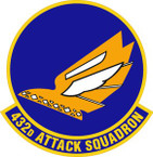 STICKER USAF 432nd Attack Squadron Emblem