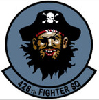 STICKER USAF 428TH FIGHTER SQUADRON