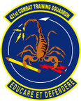 STICKER USAF 421ST TRAINING SQUADRON