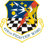 STICKER USAF 419TH FIGHTER WING