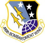 STICKER USAF 416TH BOMBARDMENT WING