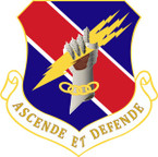 STICKER USAF 406TH AIR EXPEDITIONARY WING