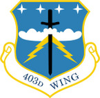 STICKER USAF 403RD WING