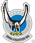 STICKER USAF 355TH FIGHTER SQUADRON