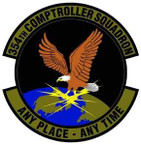 STICKER USAF 354th Comptroller Squadron Emblem