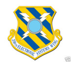 STICKER USAF 350TH ELECTRONIC SYS WING